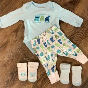 Gymboree Alphabet Animals Outfit
